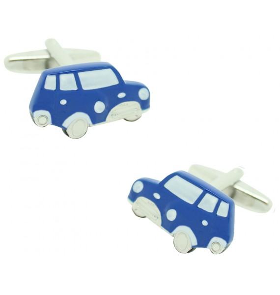 Blue Mini Cooper Cufflinks
