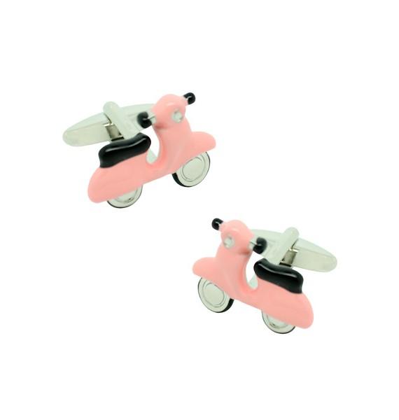 Gemelos para camisa Scooter Rosa