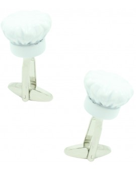 3D Chef Hat Cufflinks