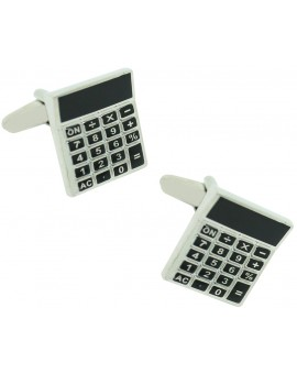 Calculator Cufflinks