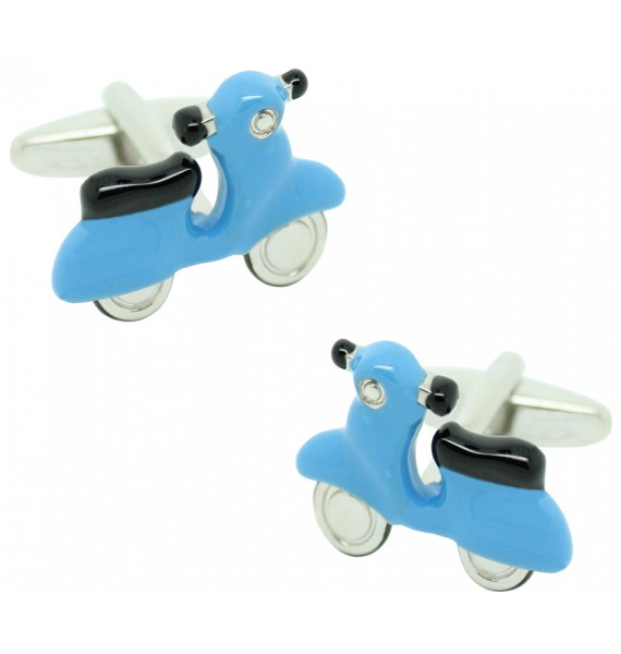 Gemelos para camisas Scooter Light Blue