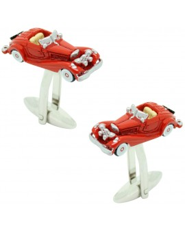 Red Triumph TR2 Cufflinks
