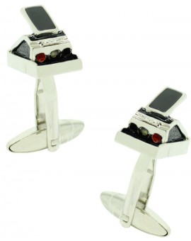 Black Polaroid Camera Cufflinks