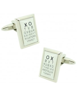 Eye Test Cufflinks
