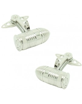GTO London Silver Bullet Cufflinks