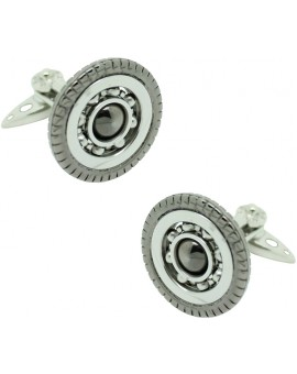 GTO Steel Wheel Bearing Cufflinks