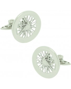 GTO Steel Borrani Traction Cufflinks