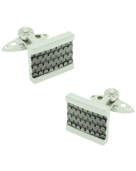 GTO Steel Tread Cufflinks