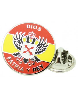 Carlist Spain Pin