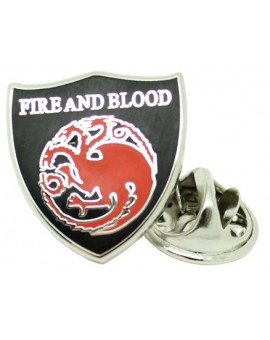 Game of Thrones Targaryen House Pin