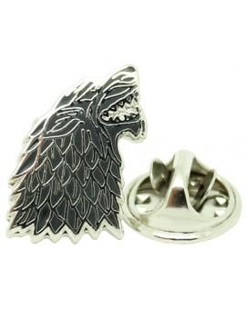 Pin Juego de Tronos Símbolo Casa Stark