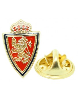 Gold Plated Real Zaragoza Pin