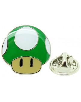 1-UP Mushroom Pin