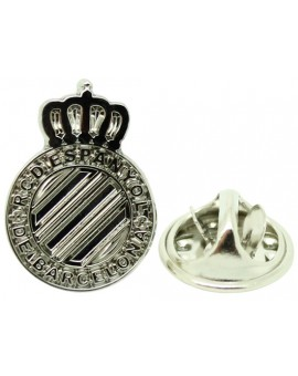 Silver Plated Espanyol FC Pin