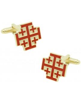 Gemelos para camisa Orden del Santo Sepulcro de Jerusalén