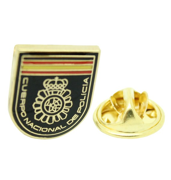 Spanish National Police Patch Pin