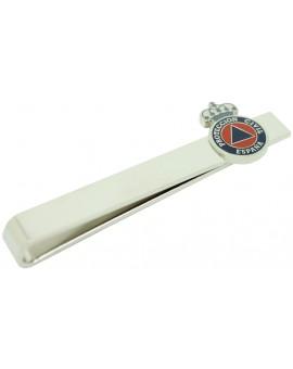 Pasador de corbata escudo de Protección Civil de España