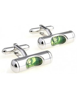 Green Level Cufflinks