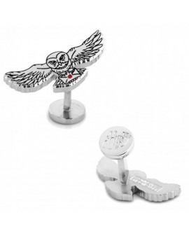 Hedwig Owl Harry Potter Cufflinks