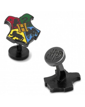 Hogwarts School Shield Harry Potter Cufflinks