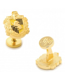 Hufflepuff Shield Harry Potter Cufflinks