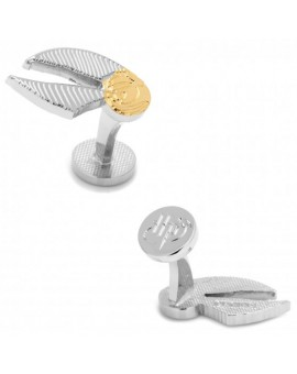Golden Snitch Ball Harry Potter Cufflinks