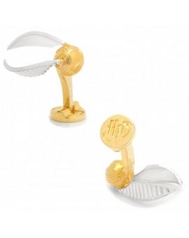 3D Golden Snitch Ball Cufflinks