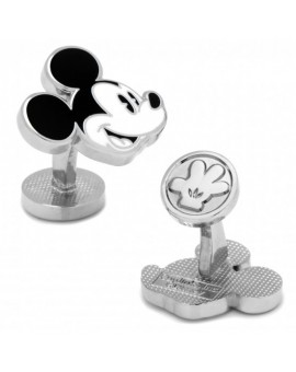 Disney - Black and White Mickey Mouse Cufflinks