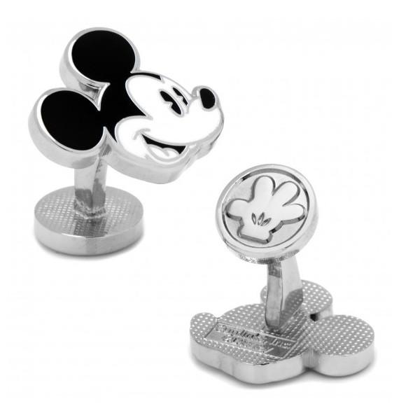 Gemelos para camisa Mickey Mouse Blanco y Negro - Disney