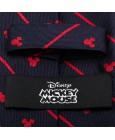 Corbata de Mickey Mouse Azul Marino y rayas rojas - Disney