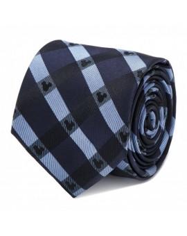 Disney - Mickey Mouse Blue Plaid Tie