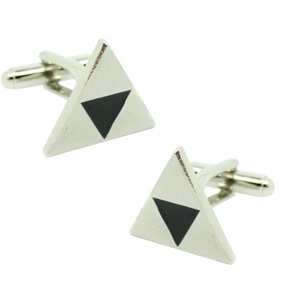 Silver Triforce Symbol Cufflinks