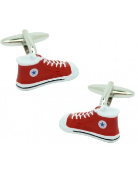 Red Converse Cufflinks
