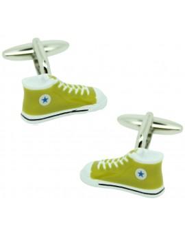 Green Converse Cufflinks
