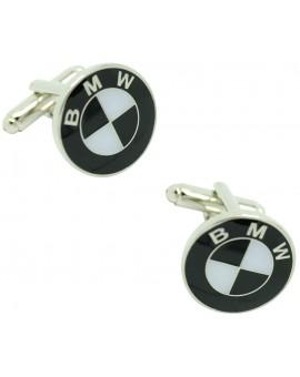 Gemelos BMW emblema negro