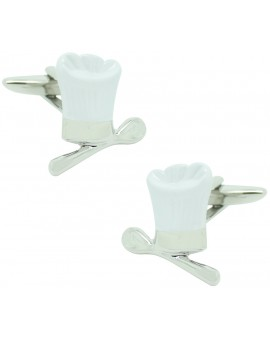 Chef Hat Cufflinks