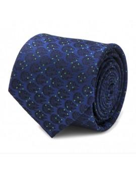Corbata Halcón milenario azul Star Wars