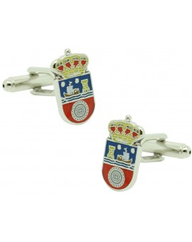 Cufflinks Flag of Cantabria