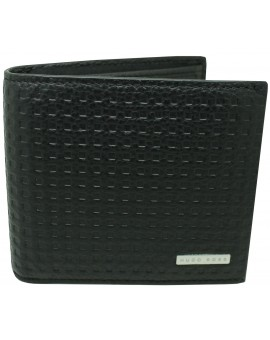 black wallet Hugo Boss black square shades