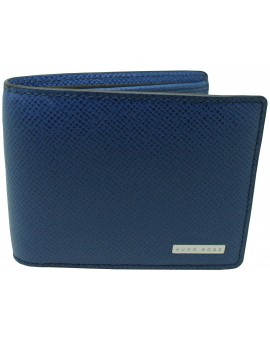 Cartera azul Hugo Boss black shield HUGO