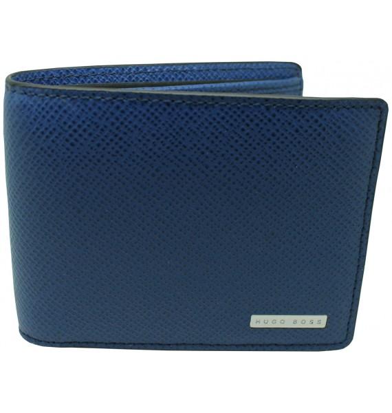 cartera azul Hugo Boss black shield HUGO