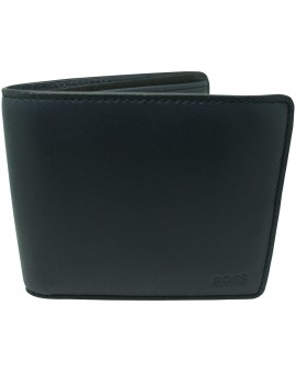 Navy blue wallet Hugo Boss black for men