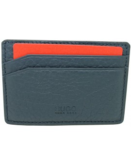 Navy-blue Card holder Drape by HUGO