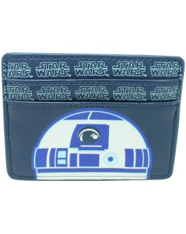 Tarjetero R2 D2 de Star Wars - Oficial