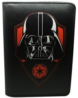 Porta pasaporte Darth Vader de Star Wars negra - Oficial