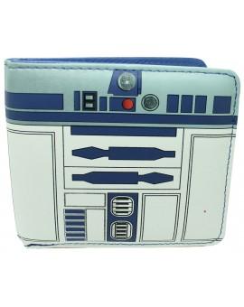 Wallet Star Wars of R2 D2 interior Blue