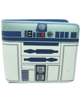 Cartera Star Wars de R2 D2 interior Azul - Oficial