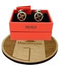 Cufflinks Hugo Boss RED cross plated