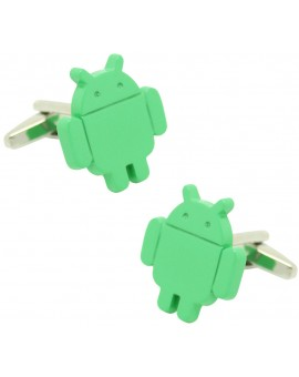 Android Logo Cufflinks