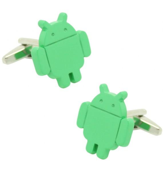 Android Logo Cufflinks